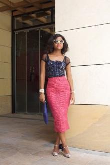 Skirt; Shoeshoe African Print