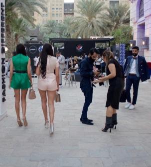 Street Style at Fashion Forward