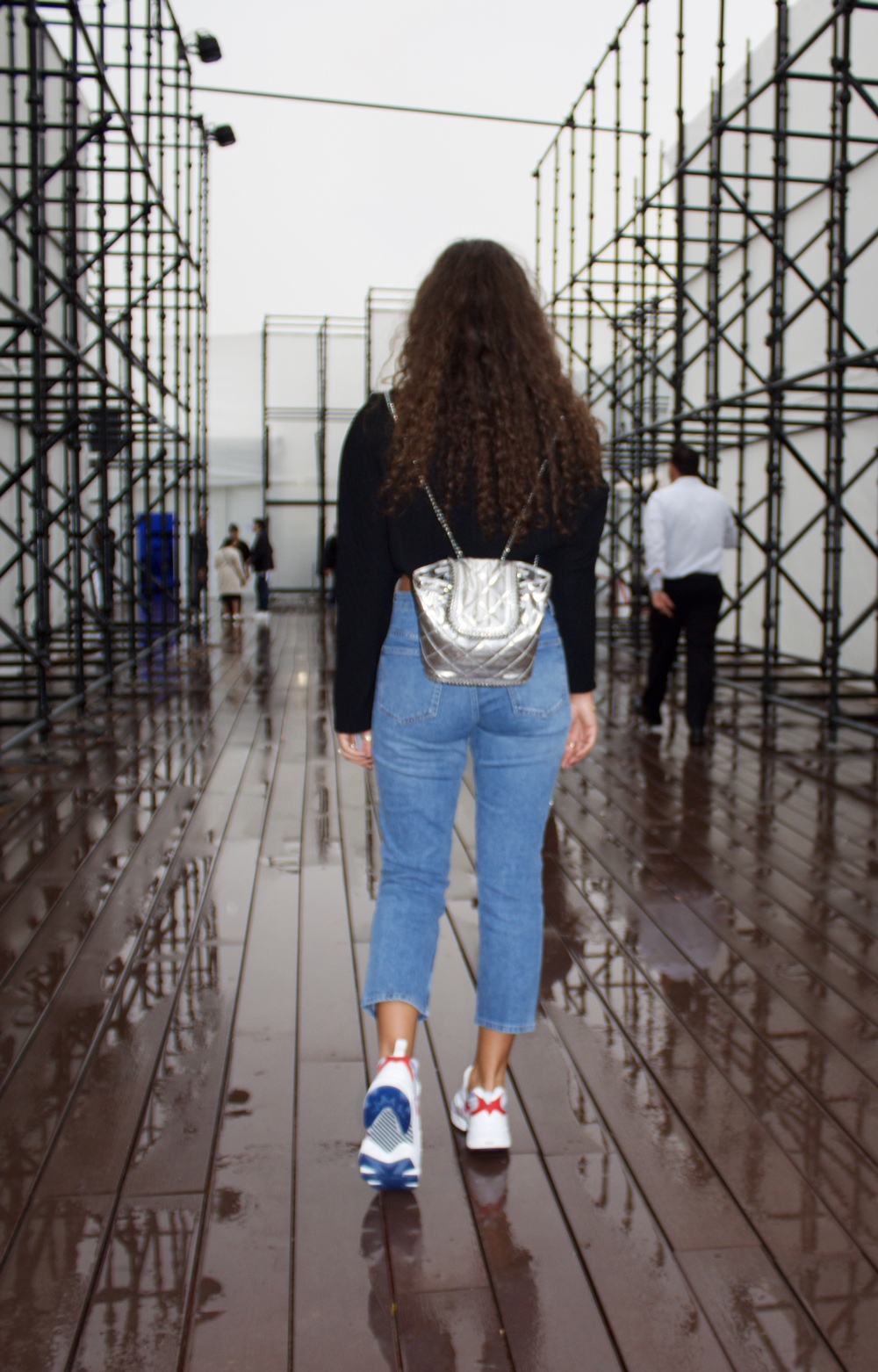 Wear Denim with Sneakers